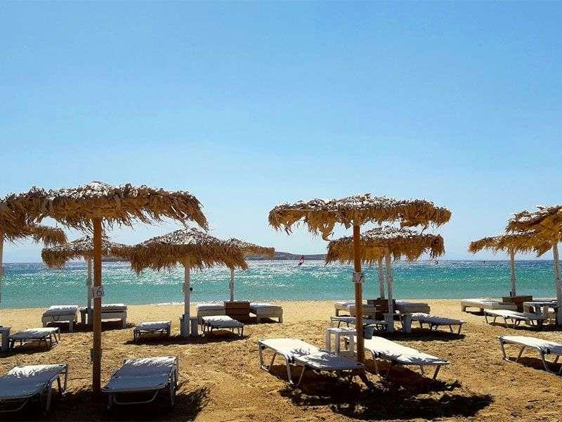 beaches in Paros