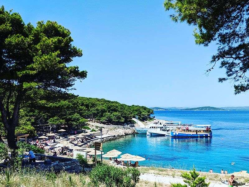 beaches in Mali Losinj
