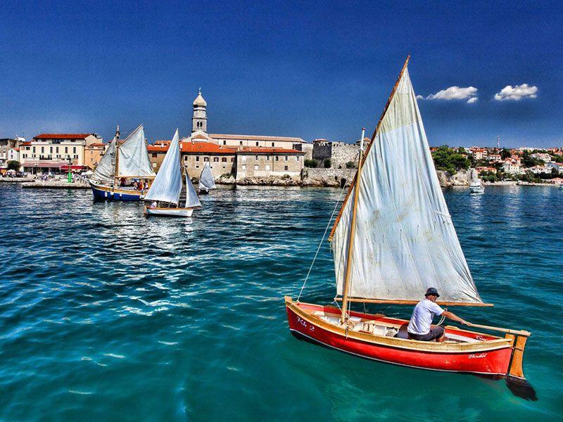 Boating in Krk