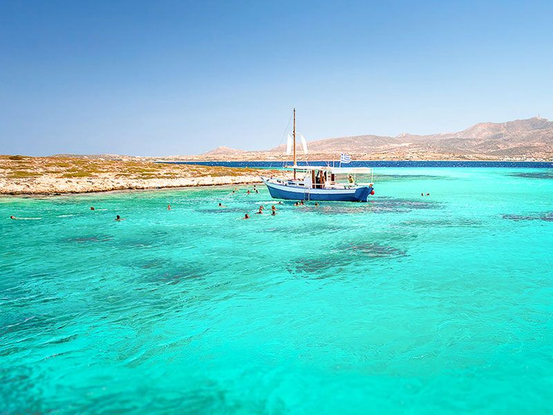 Sailing in Antiparos