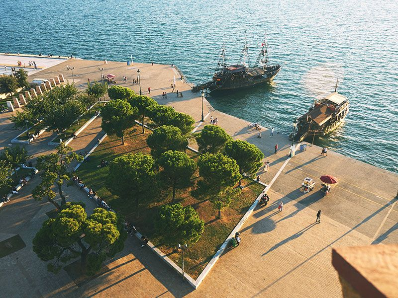 Boats in Thessaloniki