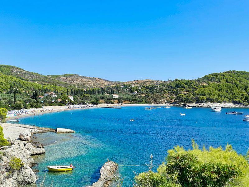 Coast of Spetses