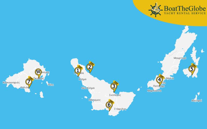 Greek island sailing cruises