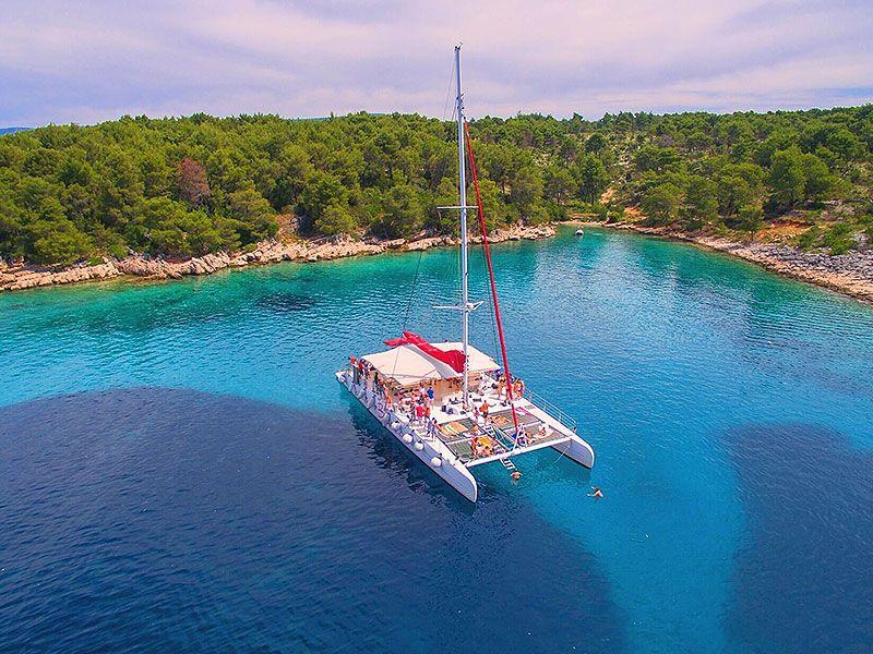 Luxury catamaran Croatia