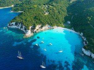 Sail from Mykonos to Santorini