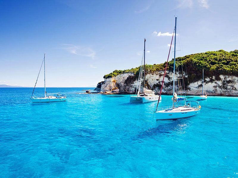 Sail in Nikiti