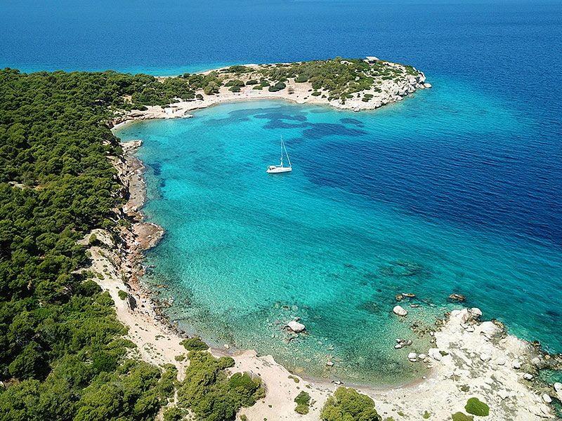 Sailing in Aegina