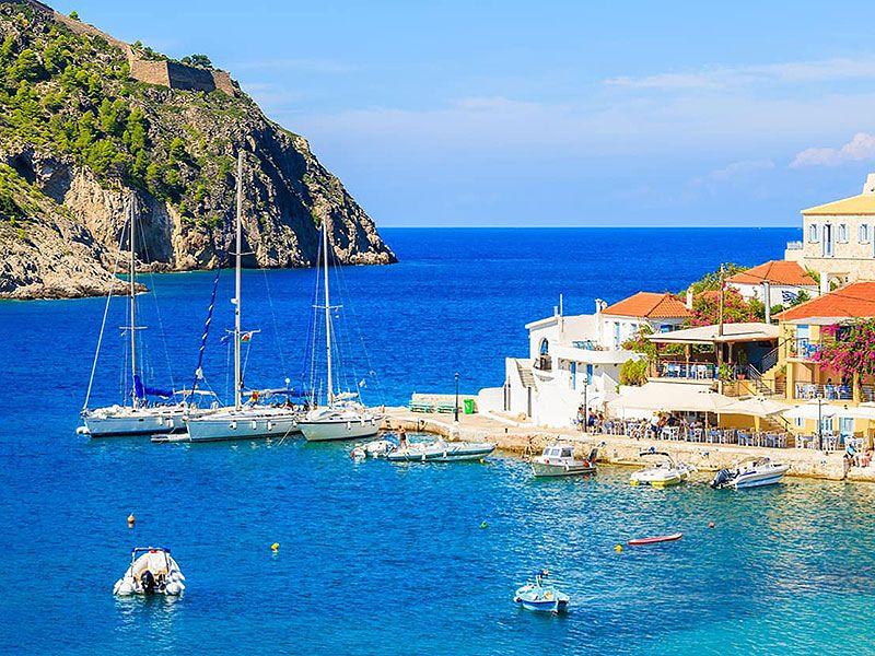 Sailing in Argostoli