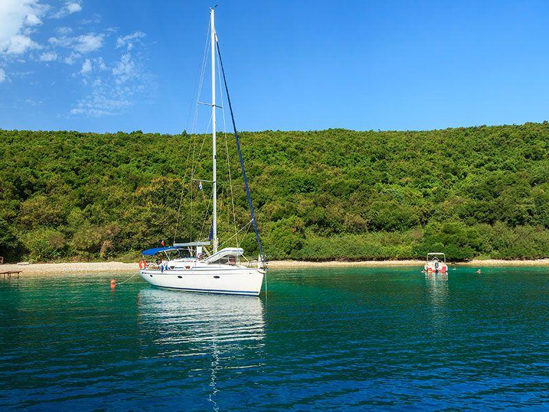 Sailing in Keramoti
