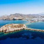 Sailing in Naxos