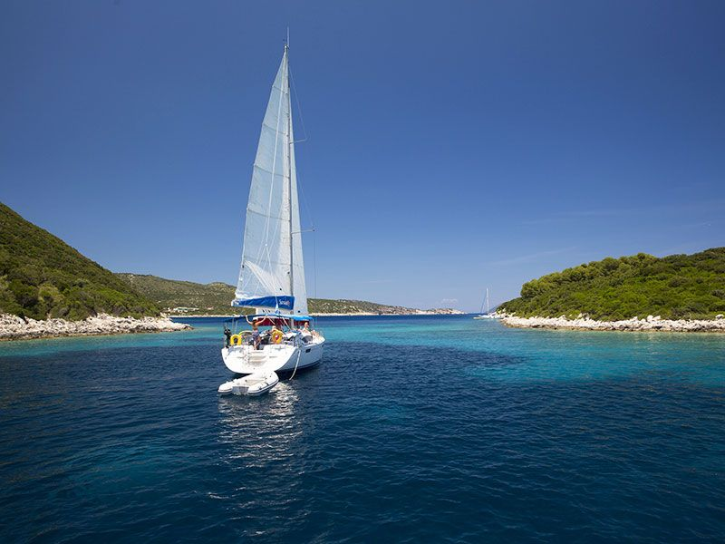 Sailing in Pefkohori
