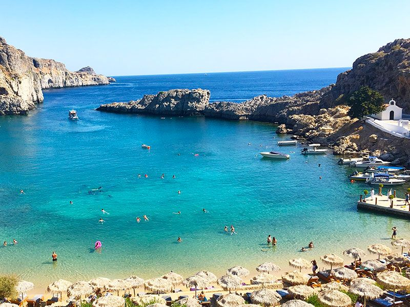 Yachtcharter in Lindos