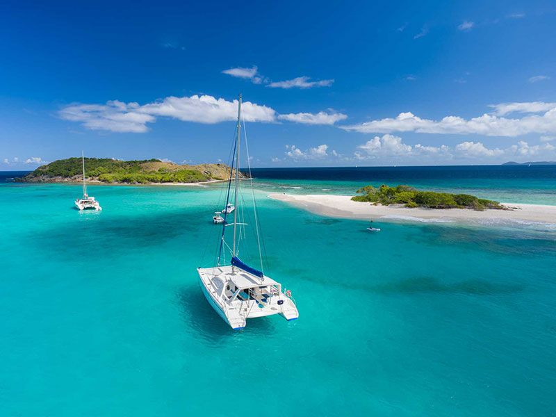 Sailing to the BVI