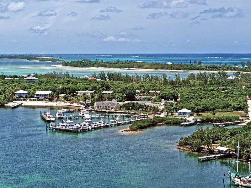 Yachting in Green Turtle Cay