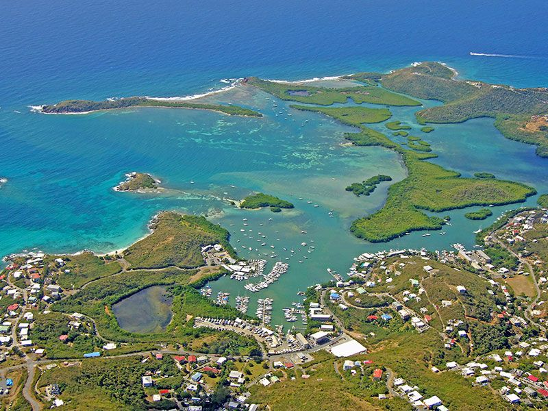 Coasts and islands in Saint Thomas