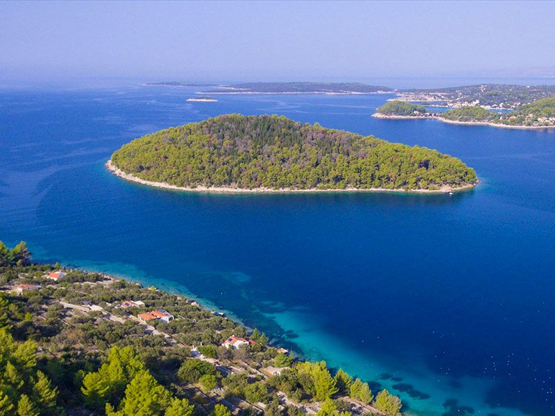 what to see in Ošjak island