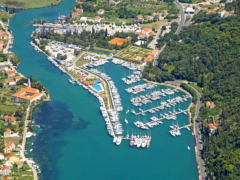 Marina around Dubrovnik