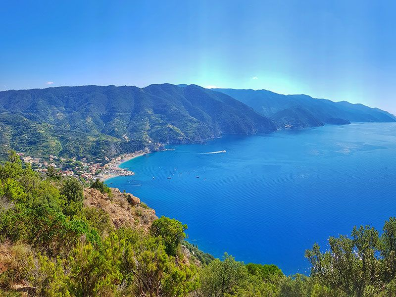 coast of Italian Riviera