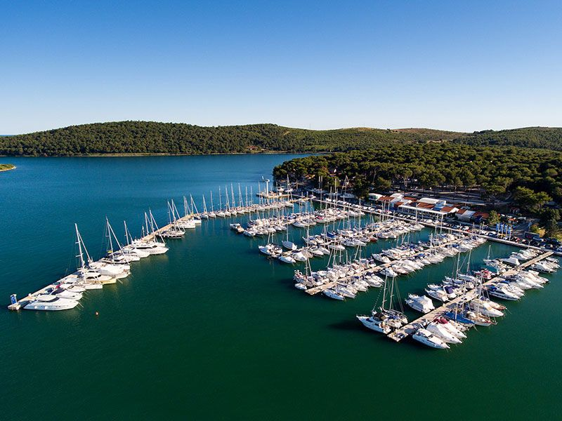 Marinas in Croatia