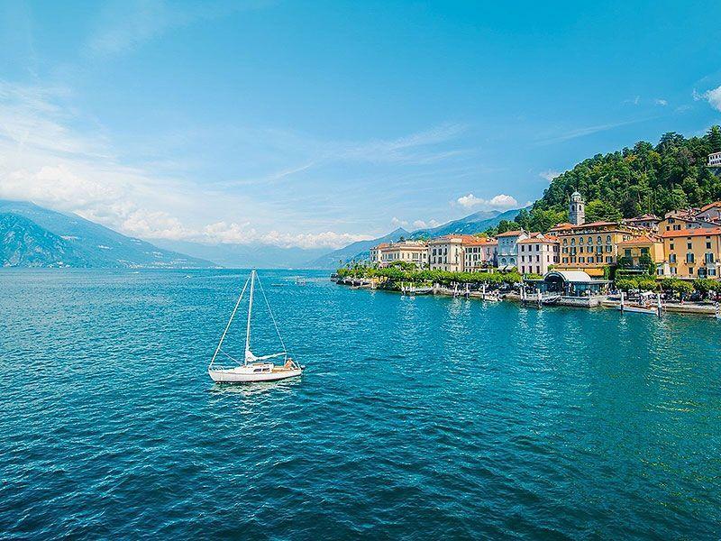 Sailing in Tremezzo