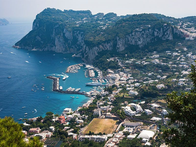 Yacht week in Capri