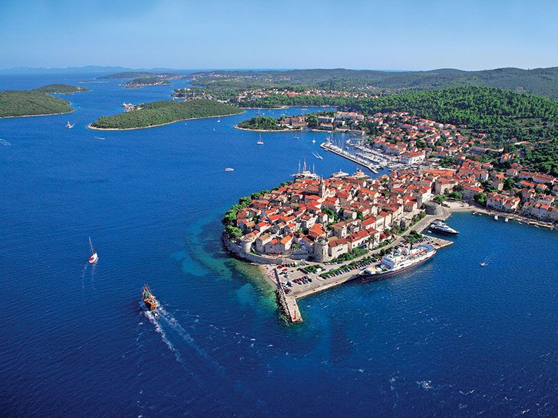 What to do around Korcula island