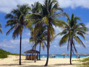 Beach in Havana