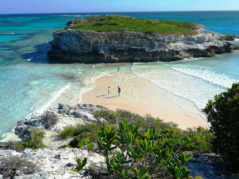 Coasts and bays in Eleuthera