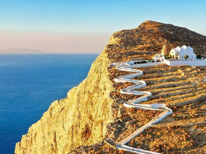 what to see in Folegandros