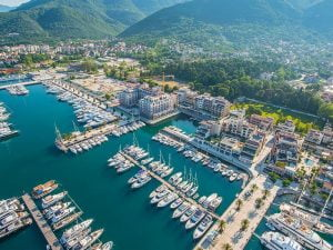 Marina in Montenegro