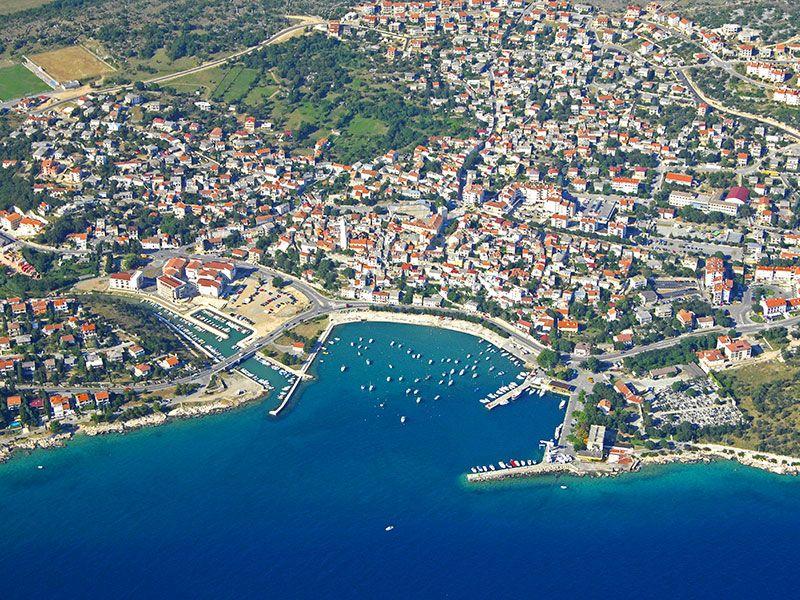 Port in Novi Vinodolski