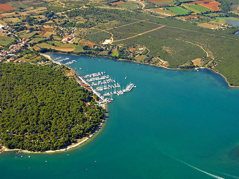 Ports in Istria