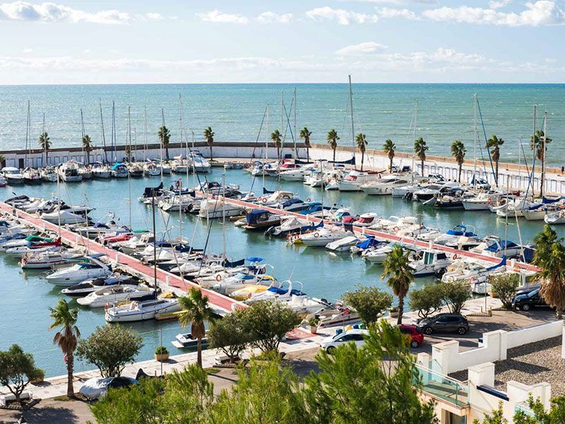 Marina in Sitges