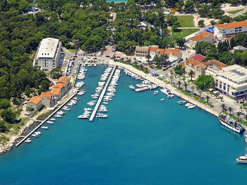 Port in Makarska