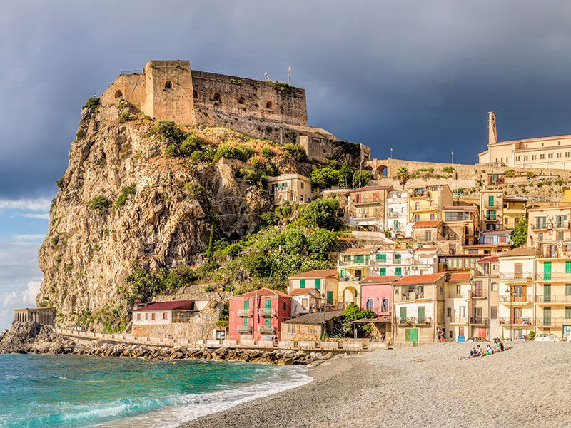Beaches in Reggio Calabria