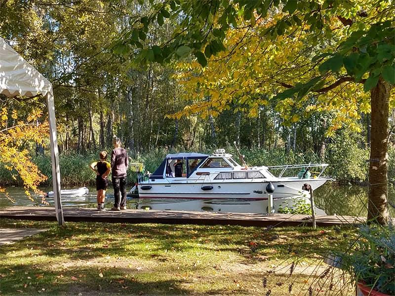 Boat tours in Zehdenick