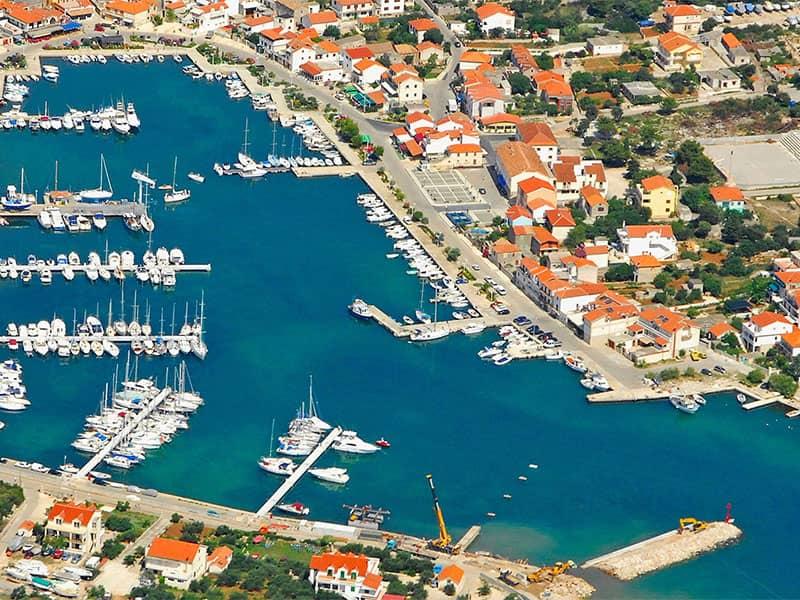 Ports around Murter