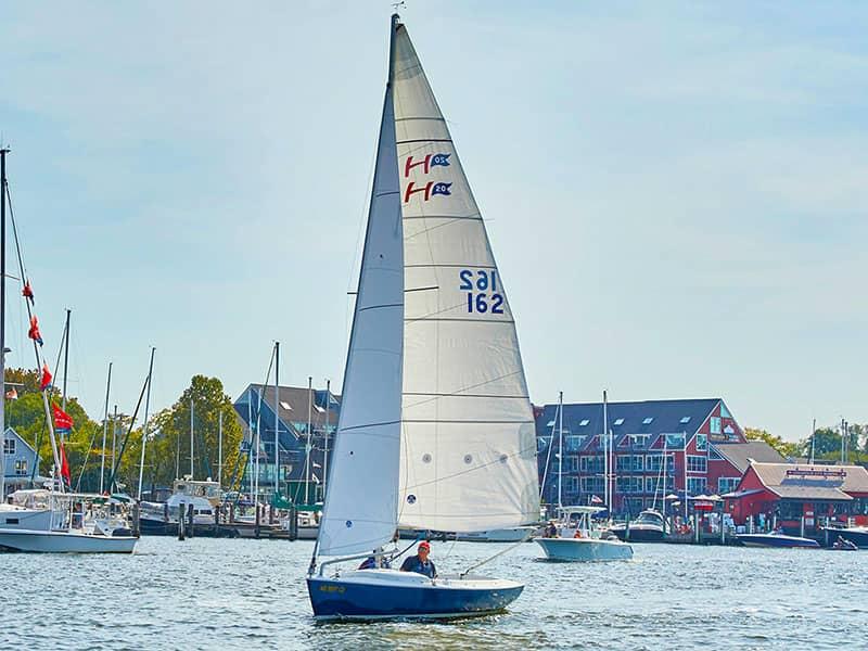 Sailing adventures Annapolis