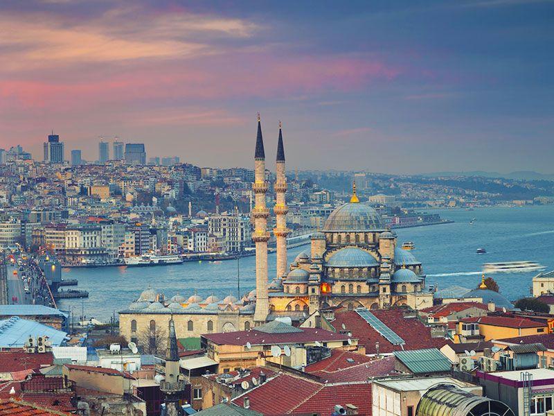 Yacht vacation in Turkey